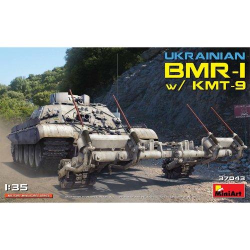 MIN37043 - Miniart 1:35 - BMR-1 w/ KMT-9 Ukrainian