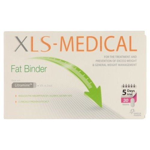 XLS Medical Fat Binder 5 Day Trial Pack 30 Tablets
