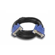 VGA Cable 5m Meter High Quality SVGA VGA Male To Male Cable - Black