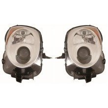 Alfa Mito 2009-> Headlights Headlamps 1 Pair O/s & N/s