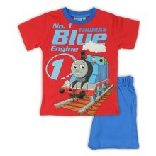 Thomas Short Pyjamas - Red