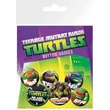 Teenage Mutant Ninja Turtles Heroes Badge Pack