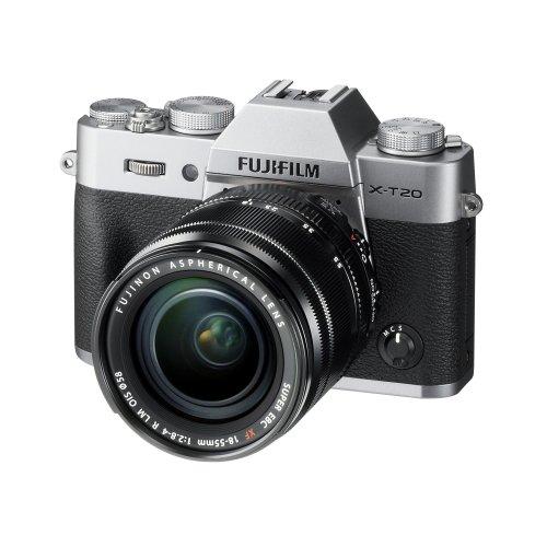 Fujifilm X-T20 with XF 18-55 lens (Silver)