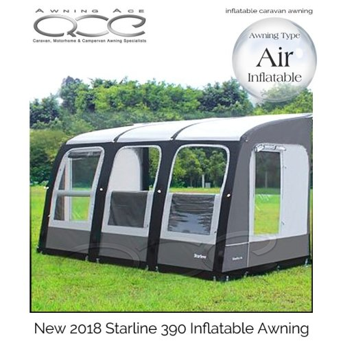 Camptech Starline Air Inflatable Caravan Awning