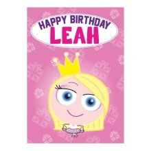 Birthday Card - Leah