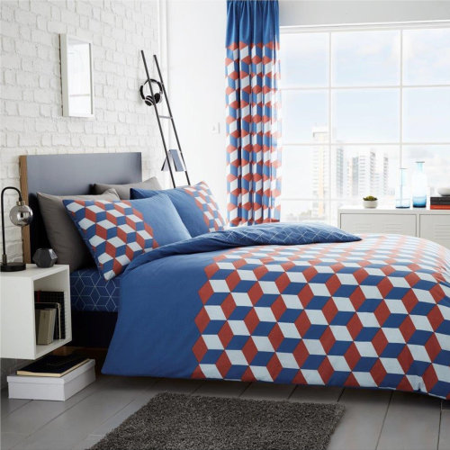 Cubix Duvet Cover Bedding Set