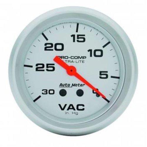 Auto Meter 4484 Ultra-Lite Mechanical Vacuum Gauge - 2 62 in