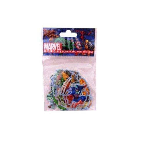 Marvel Heroes Glow in the Dark Stickers (Package of 36)