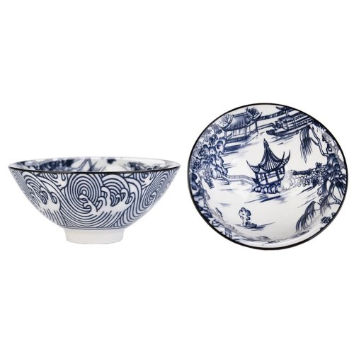 Chinese Style Ceramics Kung Fu Tea Set Tea Cup, 2.36 OZ, 2 Pieces [T]