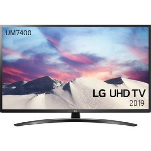 "Lg 65UM7400PLB 165.1 Cm 65"" Smart Led-Lcd Tv 4K Uhdtv Dark Iron Grey Led Ba 65UM7400PLB"
