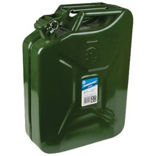 Silverline Jerry Can 20ltr - 20 730799 Fuel -  can jerry silverline 20 730799 20ltr fuel