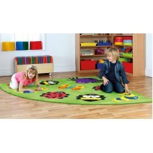 Childrens Back to Nature™ Bug Corner Placement Carpet