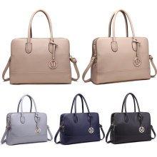 Buy 1 Get 1 at 20% Off Miss Lulu Women Handbag Laptop Shoulder Bag Big Tote