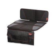 Diono Super Mat Deluxe Seat Protector with Zip off Changing Mat (black)