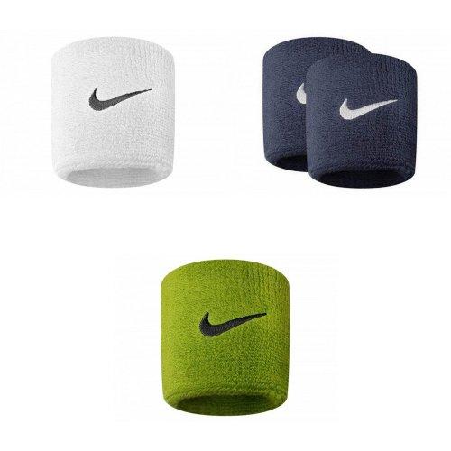 Nike Unisex Adults Swoosh Wristband (Set Of 2)