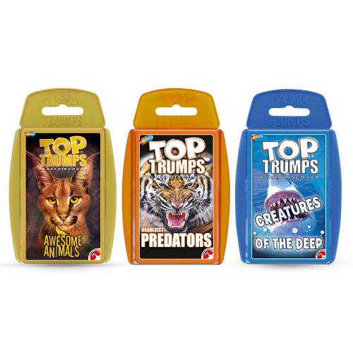 Fierce Animals - Top Trumps Card Game Bundle