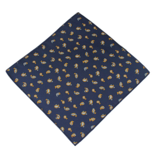 Elegant Pocket Square Handkerchiefs Men's Chest Towel With Special Pattern, No.7