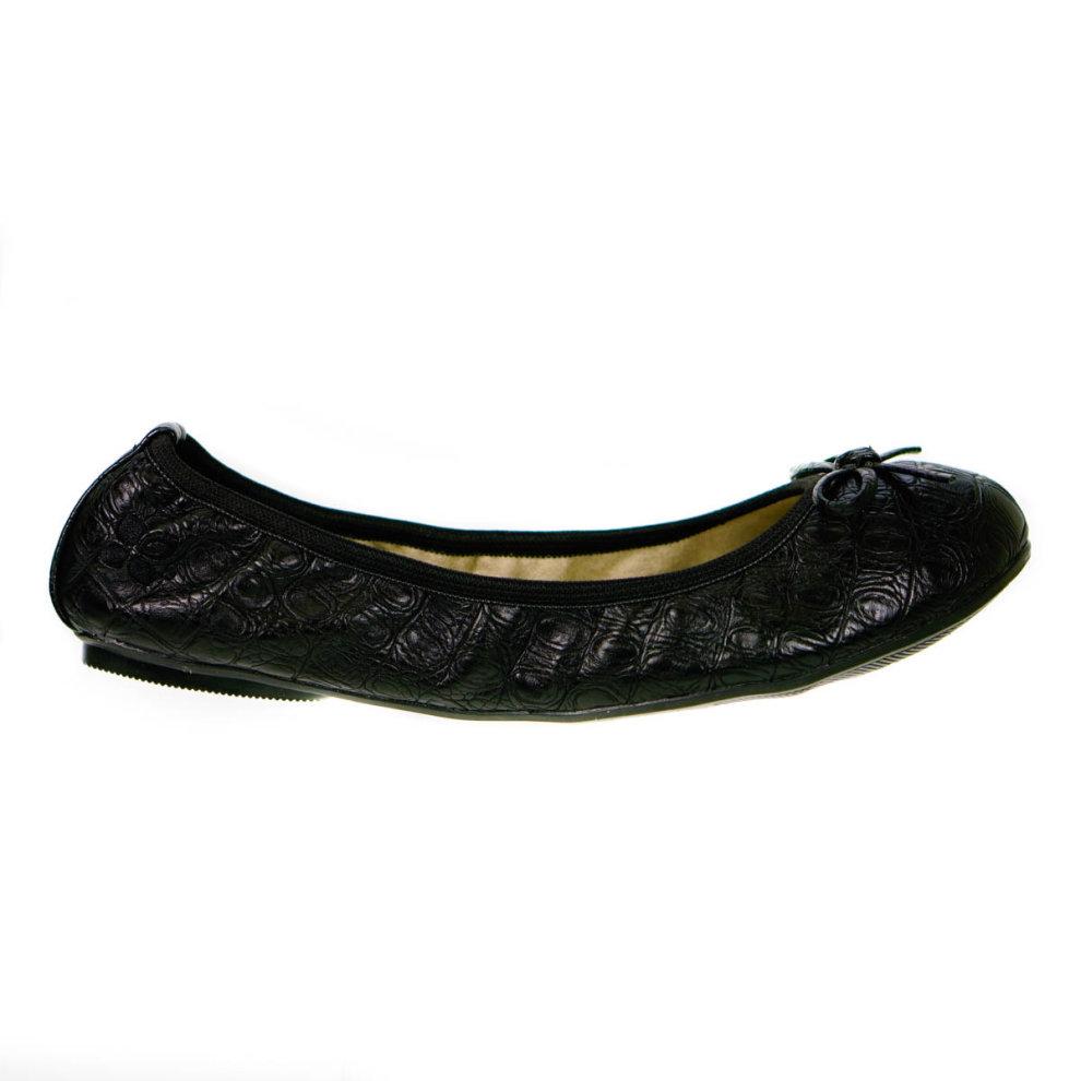 36c6866db ... Butterfly Twists Foldable Ladies Flat Shoes Black - 4 ...