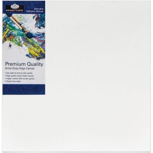 "essentials(TM) Premium Gallery Style Deep Edge Canvas-6""X6"""