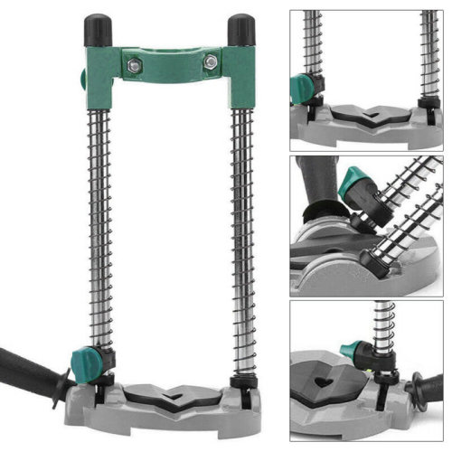 Adjustable Angle 45¡ã Drill Guide Stand Positioning Bracket for Electric Drill w