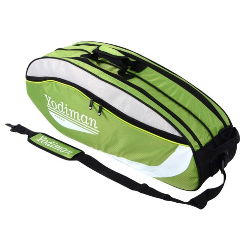 Fashion Badminton Equipment Bag Badminton Racket Bag GREEN