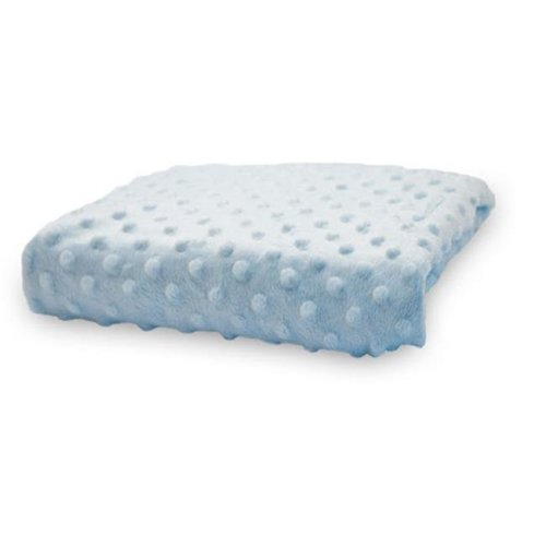 Rumble Tuff CV-CT-220-BL Compact Minky Dot Changing Pad Cover - Blue