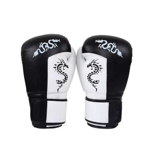 Durable Adult Boxing Gloves Training Gloves BLACK, Free Size
