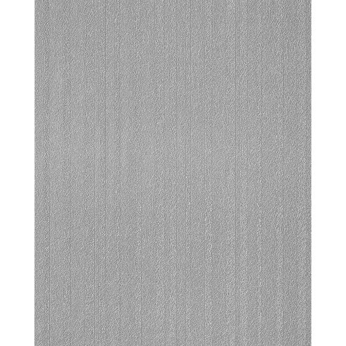 EDEM 1015-16 Fashion style design plain wallpaper textured stripes concrete grey