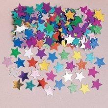 Stardust Multi Colour Metallic Confetti 14g -
