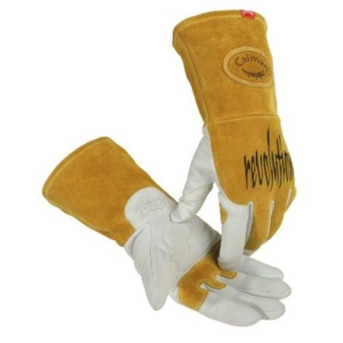Caiman 607-1868-M Caiman Revolution Welding Gloves For Multi-Task-Tig Welding, Revolution Goat Tig Glv Med