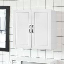 SoBuy® FRG231-W, Kitchen Bathroom Double Door Wall Cabinet Storage
