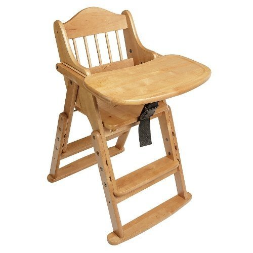 Safetots Folding Wooden High Chair