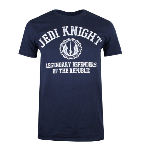 Star Wars Jedi Knight Mens T-shirt Navy