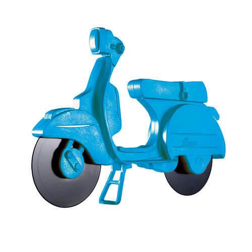 Eddingtons Blue Lambretta Scooter Pizza Cutter