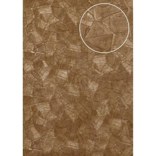 Atlas STI-5102-4 Embossed wallpaper shimmering grey-beige brown 7.035 sqm