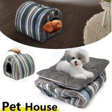 Pet Cat Dog Nest Bed Puppy Soft Warm House Sleeping