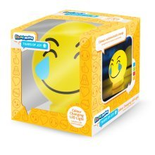 Plastic Tears Of Joy Emoticon Illumi-mate Light, Yellow - Light New Illumimate -  light new illumimate tears joy emoji colour changing led emoticon