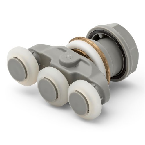 1 x Shower Door Roller/ Runners/ 19mm wheels diameter Triple wheels KH3