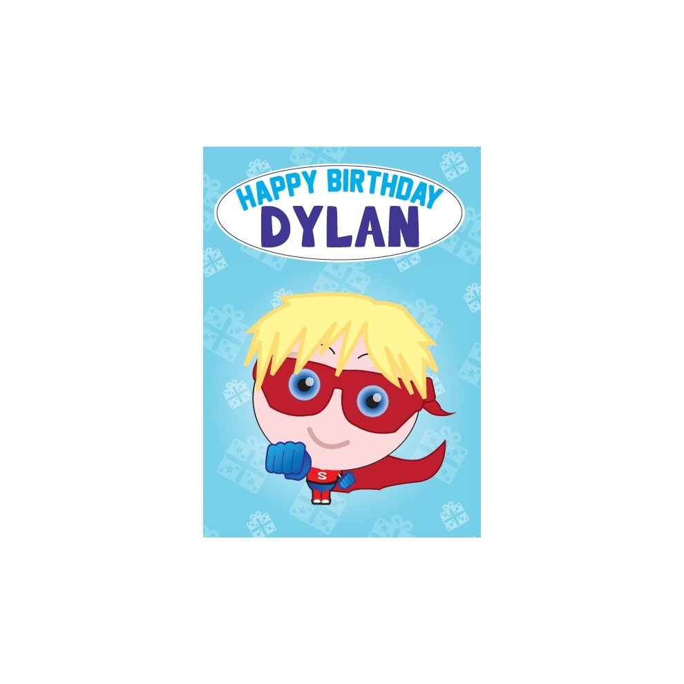 Birthday Card - Dylan