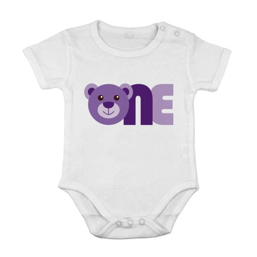 First One 1st Birthday Baby Panda Cotton Short special idea suit