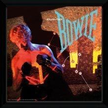 David Bowie Lets Dance Framed Album Print