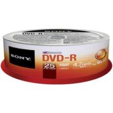 Sony DVD-R 4.7GB 25-SPINDLE