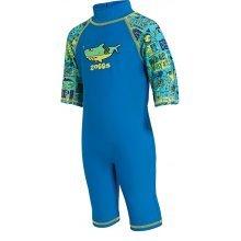 Sun Protection Swimsuit Deep Sea Blue 1-2 years