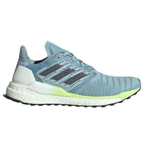 adidas Solar Boost Womens Running Fitness Trainer Shoe Ash/Yellow