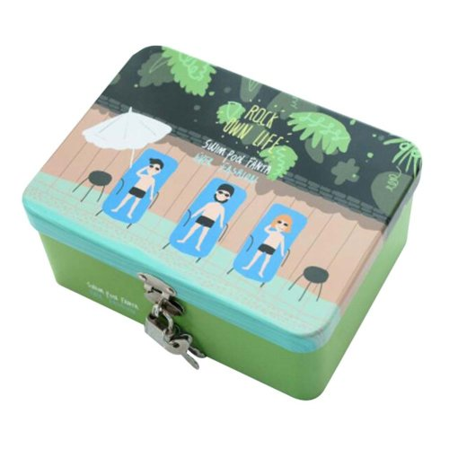 Cute Safe Lock Box Desktop Cosmetics Box-S/Party