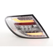 Led Taillights Mercedes C-class W204 Year 07-11 chrome