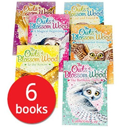 Owls of Blossom Wood X6 Pbs S