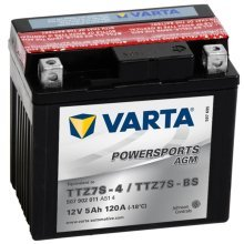 Varta AGM Battery 12 V 5 Ah YTZ7S-4 / YTZ7S-BS