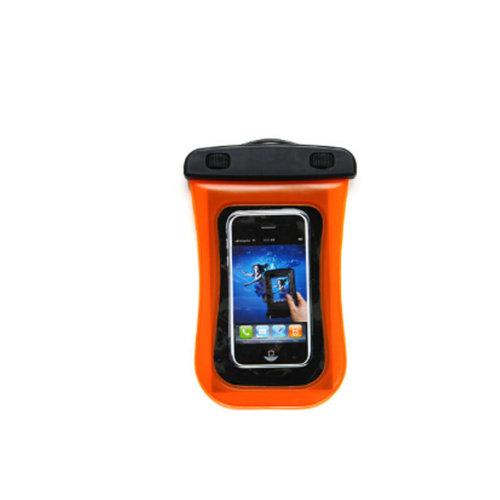 Waterproof Camera Bag Underwater Swimming Diving Cellphone Bag, Orange