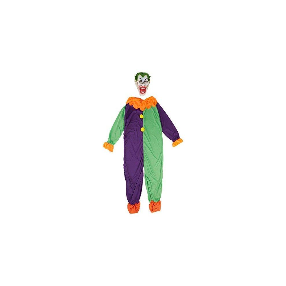 Evil Joker Menu0027s Costume Halloween Fancy Dress (s) - Mens New Carnival - mens. u003e  sc 1 st  OnBuy & Evil Joker Menu0027s Costume Halloween Fancy Dress (s) - Mens New ...